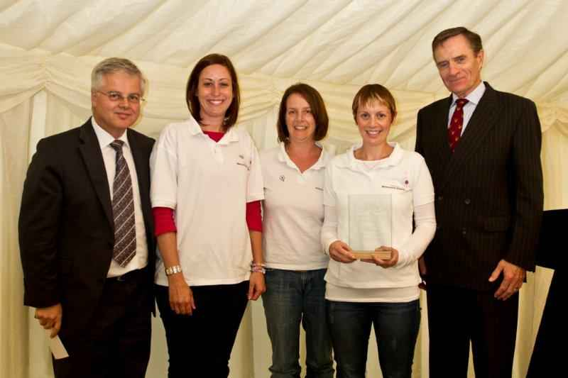 Donna Annand Melanoma Charity Small Charity of the Year Winner 2013