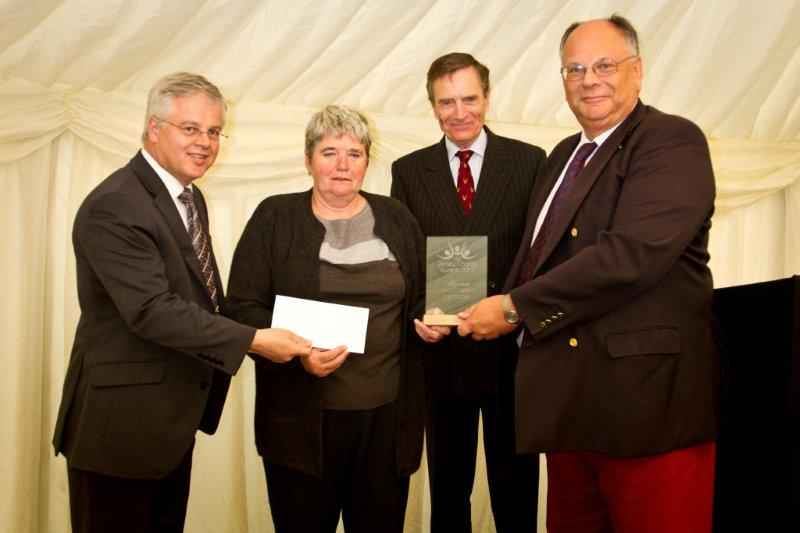Jersey Cheshire Home Large Charity of the Year Winner 2013